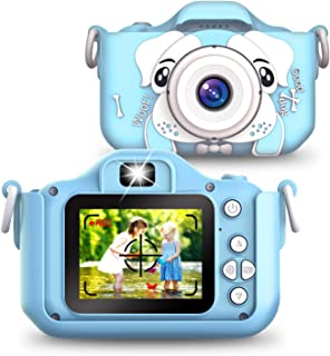 Sinceroduct Kids Camera, 20.0MP Digital Dual Camera Rechargeable with 2.0 Inch IPS Screen,32GB SD Card Included, Ideal Gif...