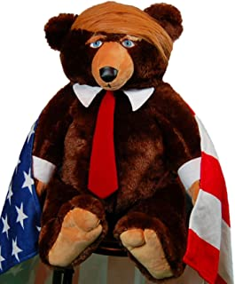 Trumpy Bear Official with Trump Card and Collector's Coin
