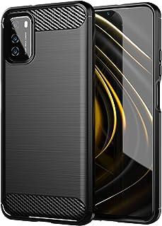 جراب TingYR لهاتف Xiaomi Poco M3، فائق النحافة من مادة TPU لامتصاص الصدمات، مضاد للخدش، غطاء مطاطي مرن ممتاز، غطاء لهاتف X...