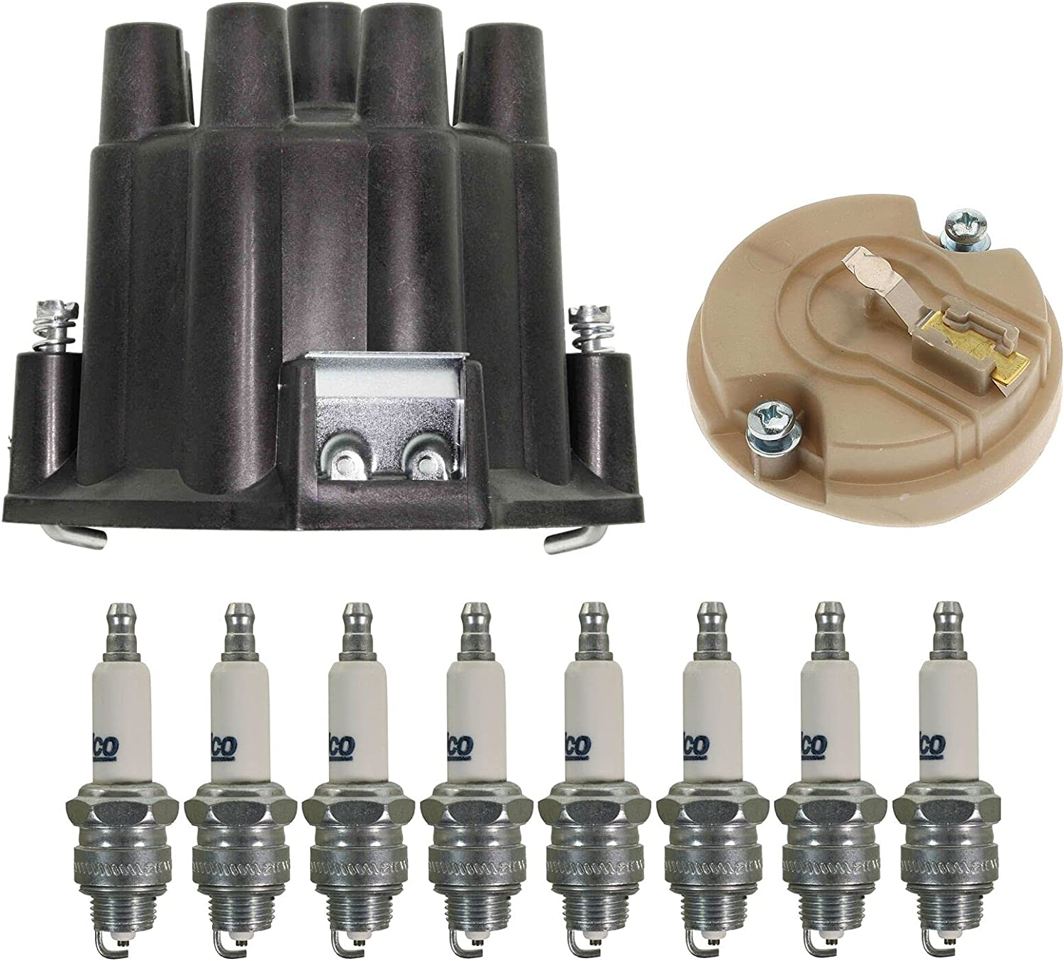 Ignition Kit 1 year warranty Distributor Popular Rotor Cap Spark Compatible Plugs with