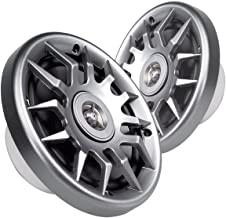 """$49 » Sponsored Ad - MAGNADYNE 6-1/2"""" Polypropylene woofer cone 2-Way Waterproof Speaker with Silver Grill (SOLD AS A PAIR)"""