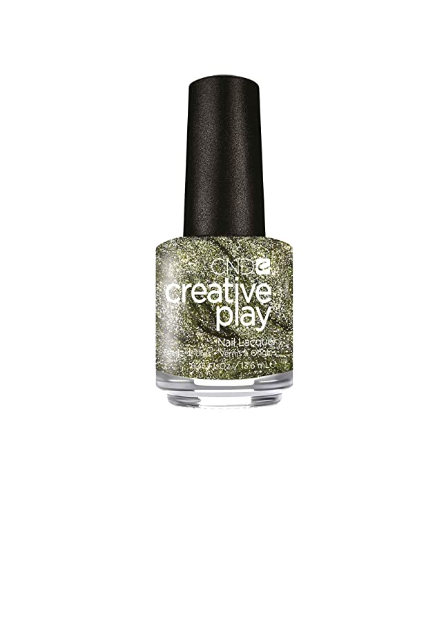 発音太字受粉者CND Creative Play Lacquer - O-Live for the Moment - 0.46oz / 13.6ml