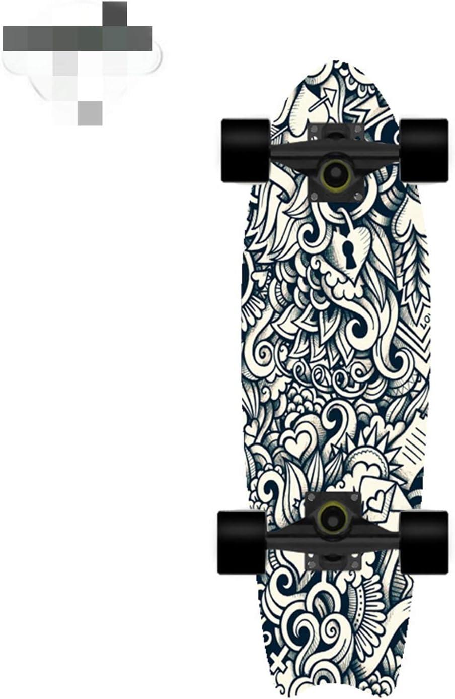 EKRPN Selling rankings Skateboard Gorgeous Surfboard Beginner Exercise Str Brush