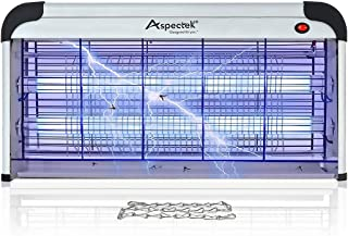 Aspectek 40W Indoor Bug Zapper Insect Killer, Mosquito Killer 25 Inch Larger Powerful Electronic Device Insect Killer for Home Restaurant and Hotel