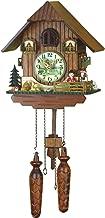 German Cuckoo Clock Quartz-movement Chalet-Style 10.00 inch - Authentic black forest cuckoo clock by Trenkle Uhren