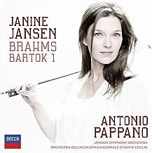 Brahms: Violin Concerto; Bartok: Violin Concerto No.1