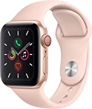 Apple Watch Series 5 (GPS+Cellular, 40mm) – Gold Aluminum Case with Pink Sport Band