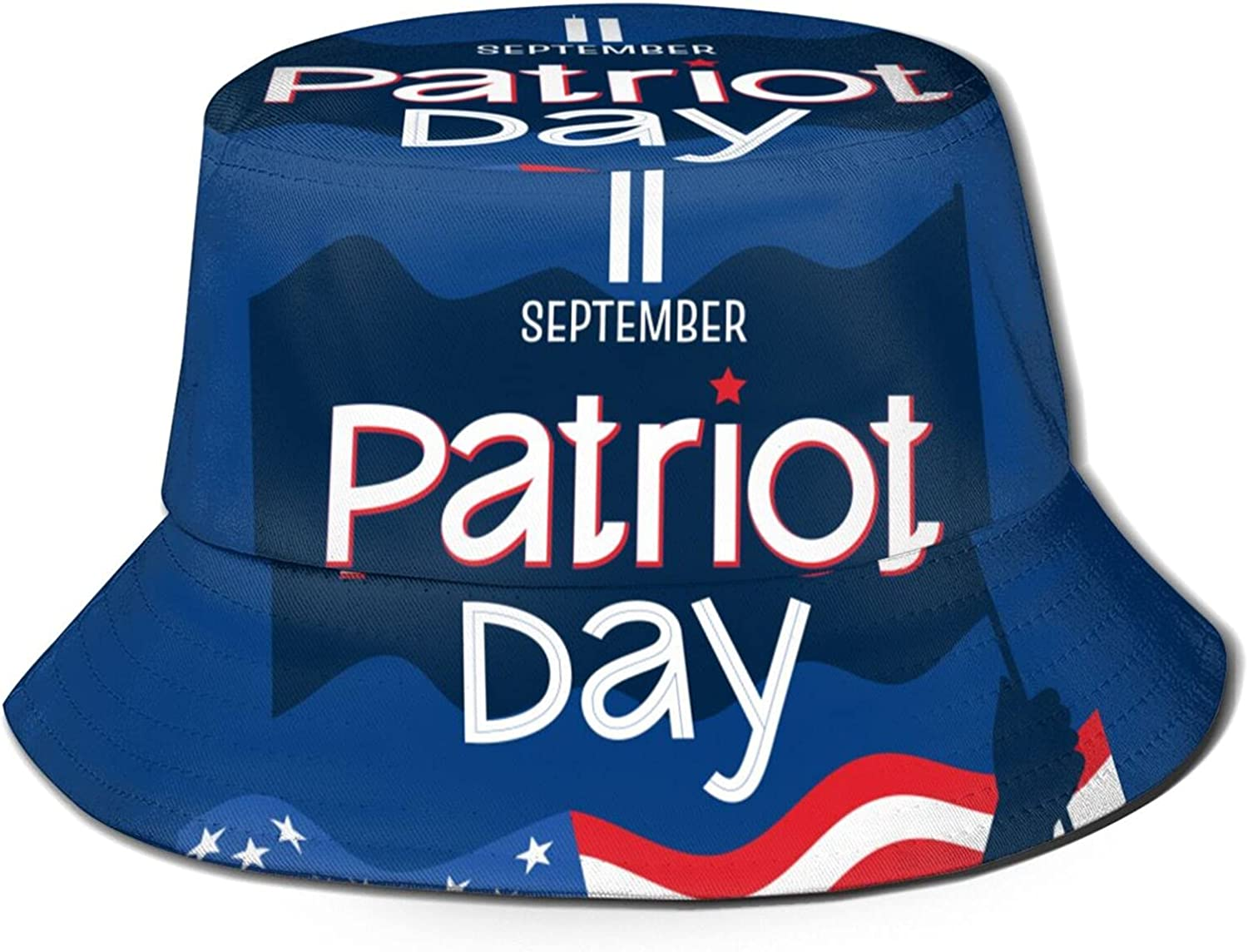 9 11 Memorial Never Forget Patriot Day Sum Beautiful Bucket Hats Popularity 70% OFF Outlet
