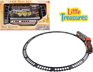 Little Treasures The Rail Master Train Play Set Trains are Great Fun at All Ages Children Love to Watch Them Go Down The Tracks