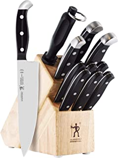 J.A. HENCKELS INTERNATIONAL 35309-000 Statement Knife Block Set, 12-pc, Light Brown