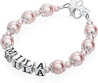 toddler pearl bracelet