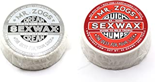 SexWax Unisex Dream CreamQuick Humps Twin Pack Extreme Cold Silver Red