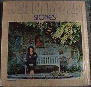 Neil Diamond Stones (11aa11) - MCA Records 1971 - Used Vinyl LP Record - 1980 Reissue Pressing MCA 2008 MR2-1 in Deadwax - I Am... I Said - Chelsea Morning - Suzanne