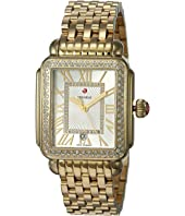Michele - Deco Madison Watch Gold