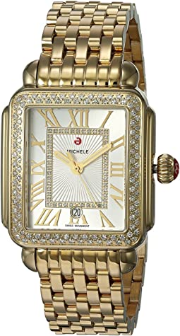Michele Deco Madison Watch Gold