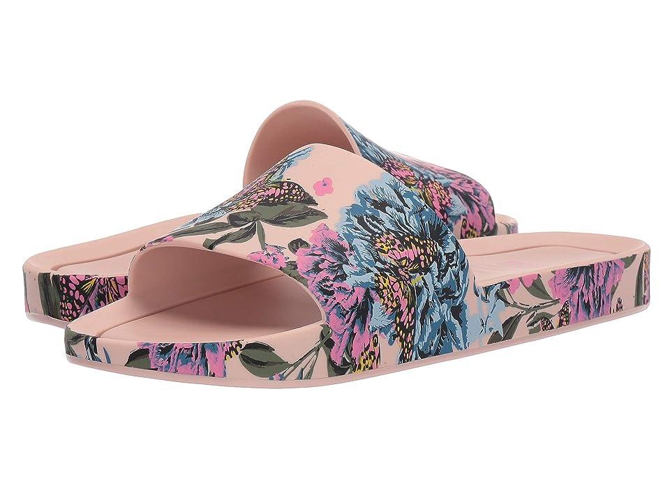 Melissa Shoes Beach Slide III (Pink/Blue) Women