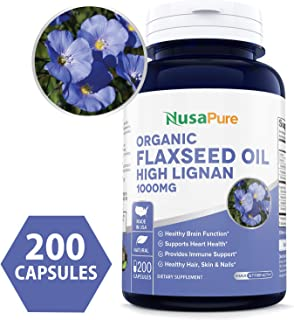 Best high lignan flaxseed oil Reviews