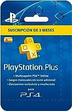Sony-PSN Plus scheda 90 giorni-ripetersi (PlayStation 4) [Versione Spagnola]