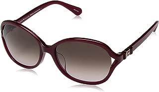 Kate Spade Women's Jabria/f/s Rectangular Sunglasses, Ople Burg, 57 mm