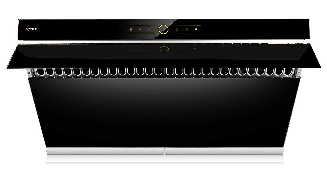 アクセント魚ドラマFOTILE LEDライト付きJQG9001Rangeフードの下で内閣キッチンステンレススチールウォールマウント 36
