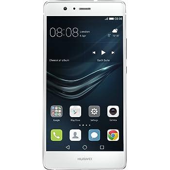Huawei P9 Lite Smartphone, LTE, Display 5.2'' FHD, Processore Octa-Core Kirin 650, 16 GB Memoria Interna, 3GB RAM, Fotocamera 13 MP, Single-SIM, Android 6.0 Marshmallow, Bianco [Italia]
