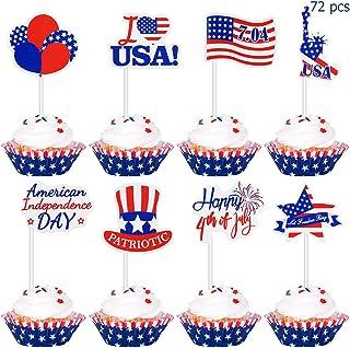 CUPCAKE CAKE TOPPERS 1235 24X PRECUT UNITED KINGDOM FLAG BIRTHDAY EDIBLE PAPER