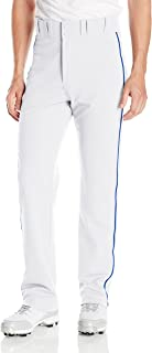 Best mens white baseball pants with royal blue piping Reviews