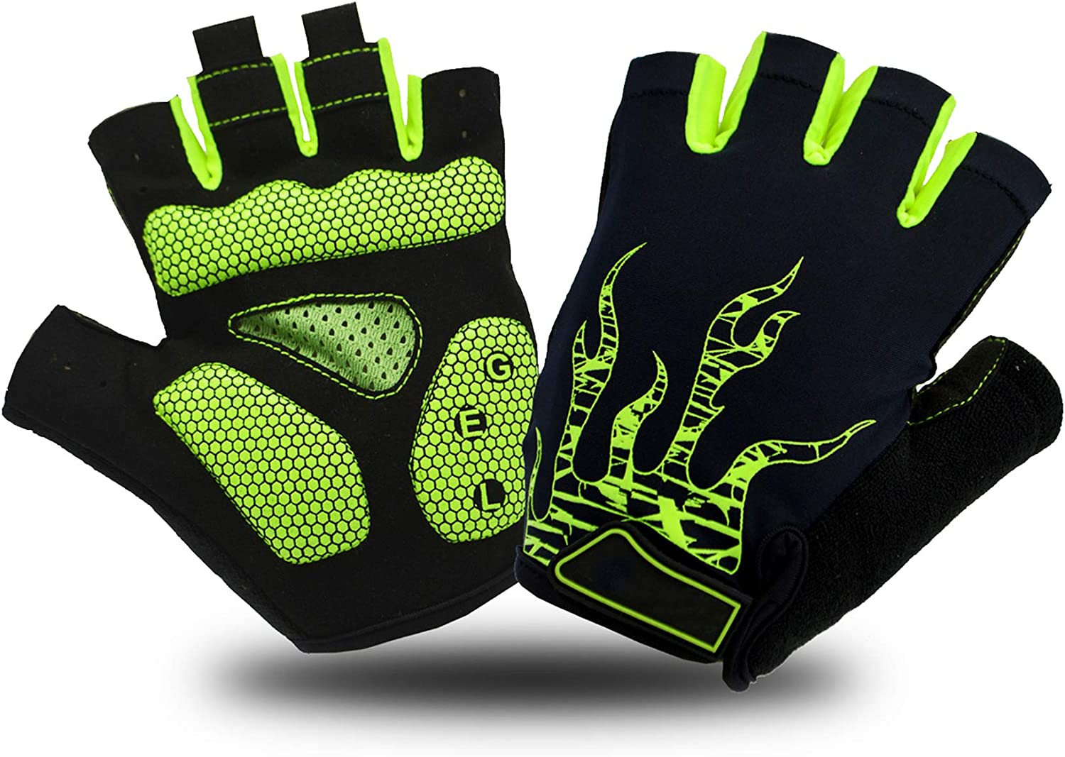 BLONGW Cycling Gloves for Men Women SEAL limited product Riding Bicy Road Max 81% OFF Half Finger