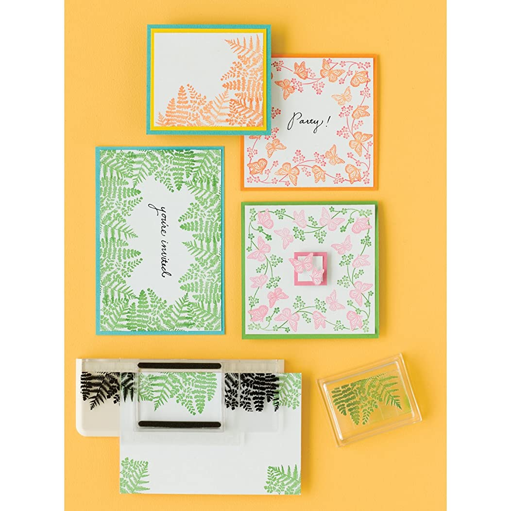 Martha Stewart Crafts EK Success Around The Page Starter Set Stamp