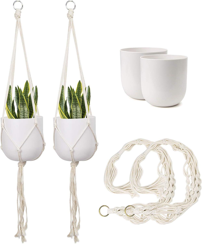 FairyLavie 5'' Hanging Opening large release sale Planter for Plants Plant Outdoor Indoor Industry No. 1