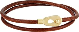 Centra Leather Wrap Bracelet