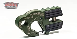 Factor 55 UltraHook Winch Hook with Shackle Mount - OD Green