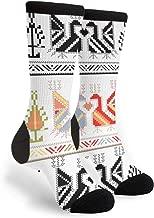 Bulgarian Folk Art Dress Casual Socks - Fun Novelty Crew Socks,Gifts
