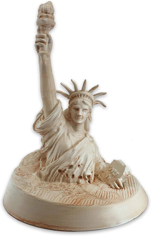 メーカー公式 使い勝手の良い muckychris Planet of The Apes 12 Sand Antiqued Statue Liberty