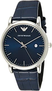 Emporio Armani Men's AR2501 Dress Blue Leather Quartz Watch