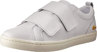 Lacoste Women's Straightset Strap 119 1 Women's Fashion Shoes, WHT/Off WHT