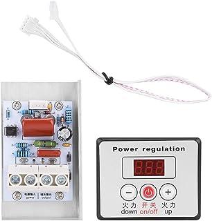 Eulbevoli Contrôleur de Vitesse 10000W gradateur Module de Thermostat régulateur de Tension Stable Dissipation Thermique d...