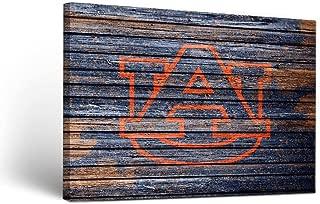 Victory Tailgate Auburn University Tigers Canvas Wall Art Weathered Design