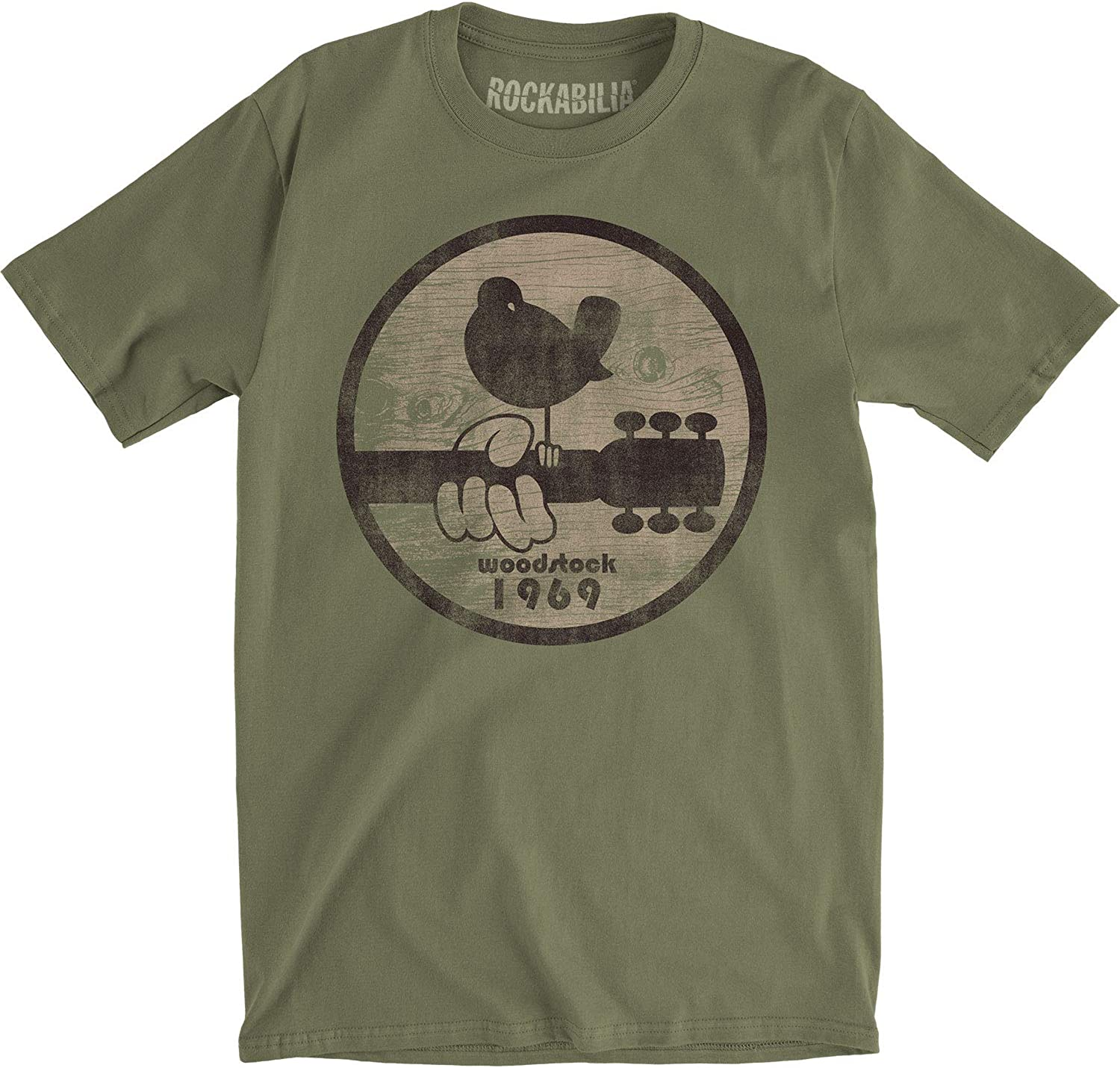 Woodstock Classic Colorful Logo Fitted T-Shirt