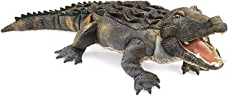 Folkmanis American Alligator Hand Puppet, Green, 1 EA