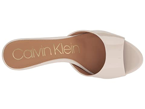 Shop Free Shipping Shop Offer Calvin Klein Luc Mule Soft White 5L1wobp