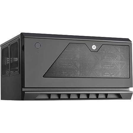 Silverstone 最大12ドライブ搭載可能なMicroATXサイズのラックマウントケース SST-CS381B 日本正規代理店品