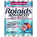 Rolaids Advanced Strength Antacid Plus Anti Gas Tablets (3 Rolls)
