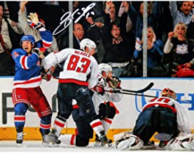 Brad Richards Game Tying Goal vs Washington Capitals 8x10 Photo Signed - Steiner Sports Certified - Autographed NHL Photos