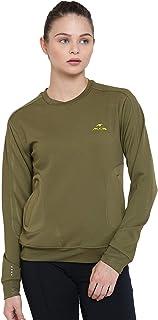 Alcis Olive Green Women's Sweatshirt