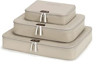 LIGHT FLIGHT Packing Cubes Travel Packing Organizers Luggage Organizer Set, 3 Various Sizes