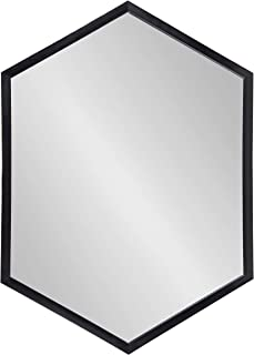 Kate and Laurel Laverty Modern Framed Hexagon Mirror, 22