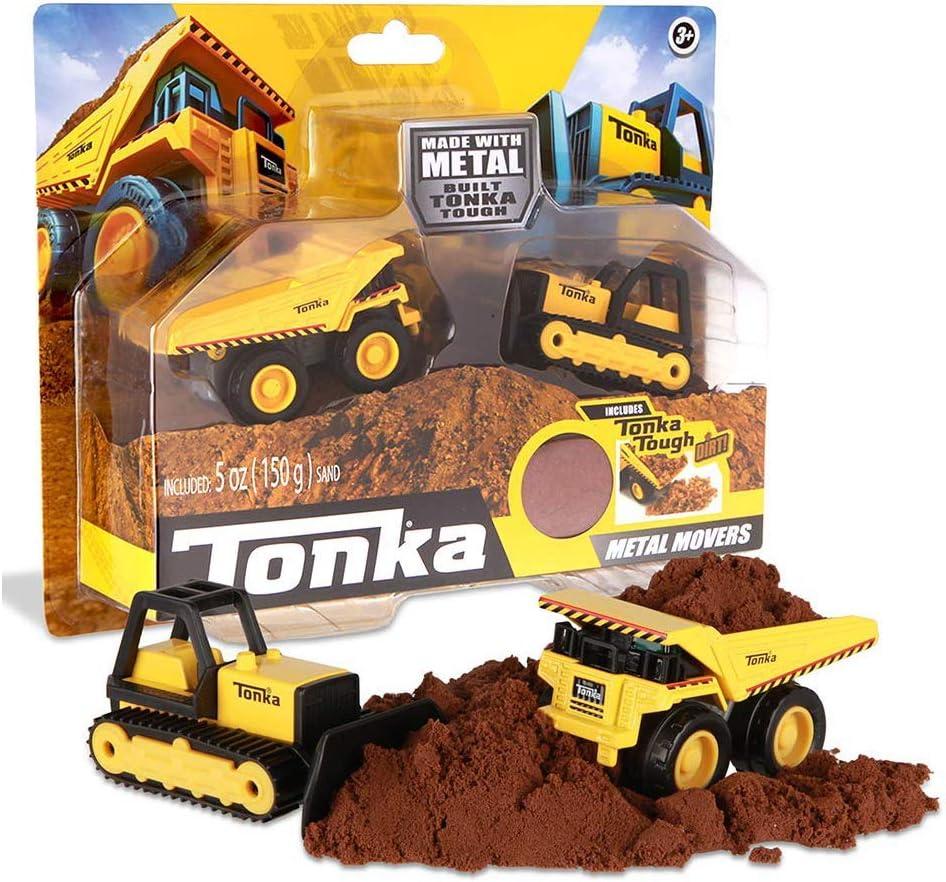 Mini Tonka Excavator Truck Replica