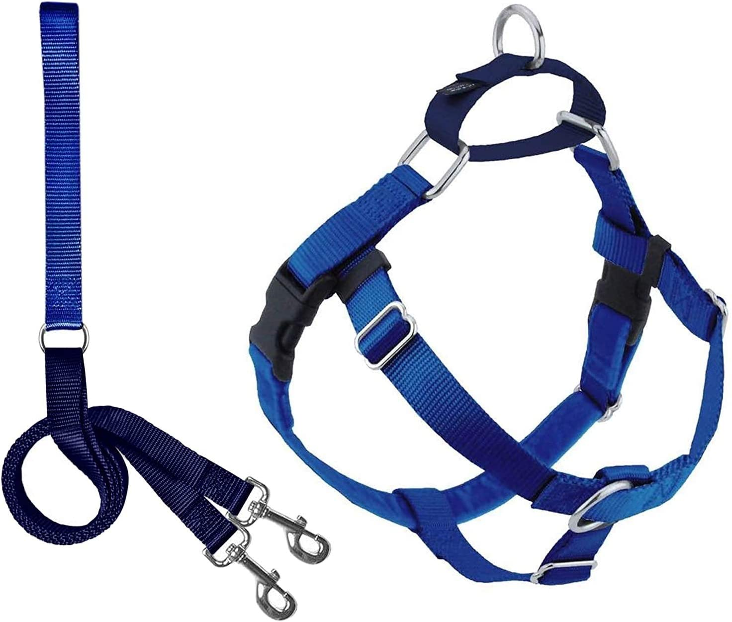2 Hounds Design Freedom No Gentle Pull Super special Max 46% OFF price Harness Adjustable Dog