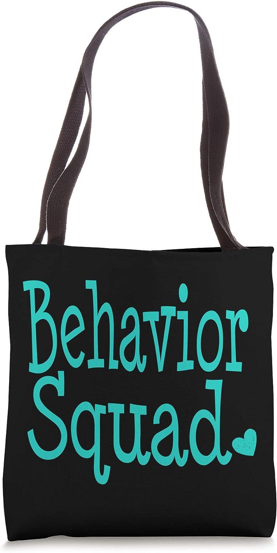 Behavior Analyst Squad ABA Therapist Autism BCBA Graduation Tote Bag